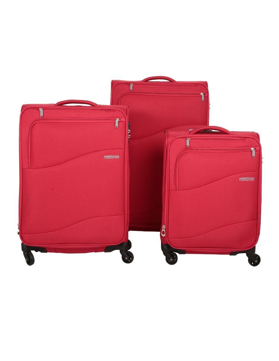 8d5db0baf Set de maletas American Tourister Spring Lite rojo | Liverpool es ...